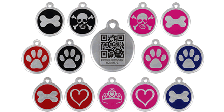 Red Dingo QR Tags