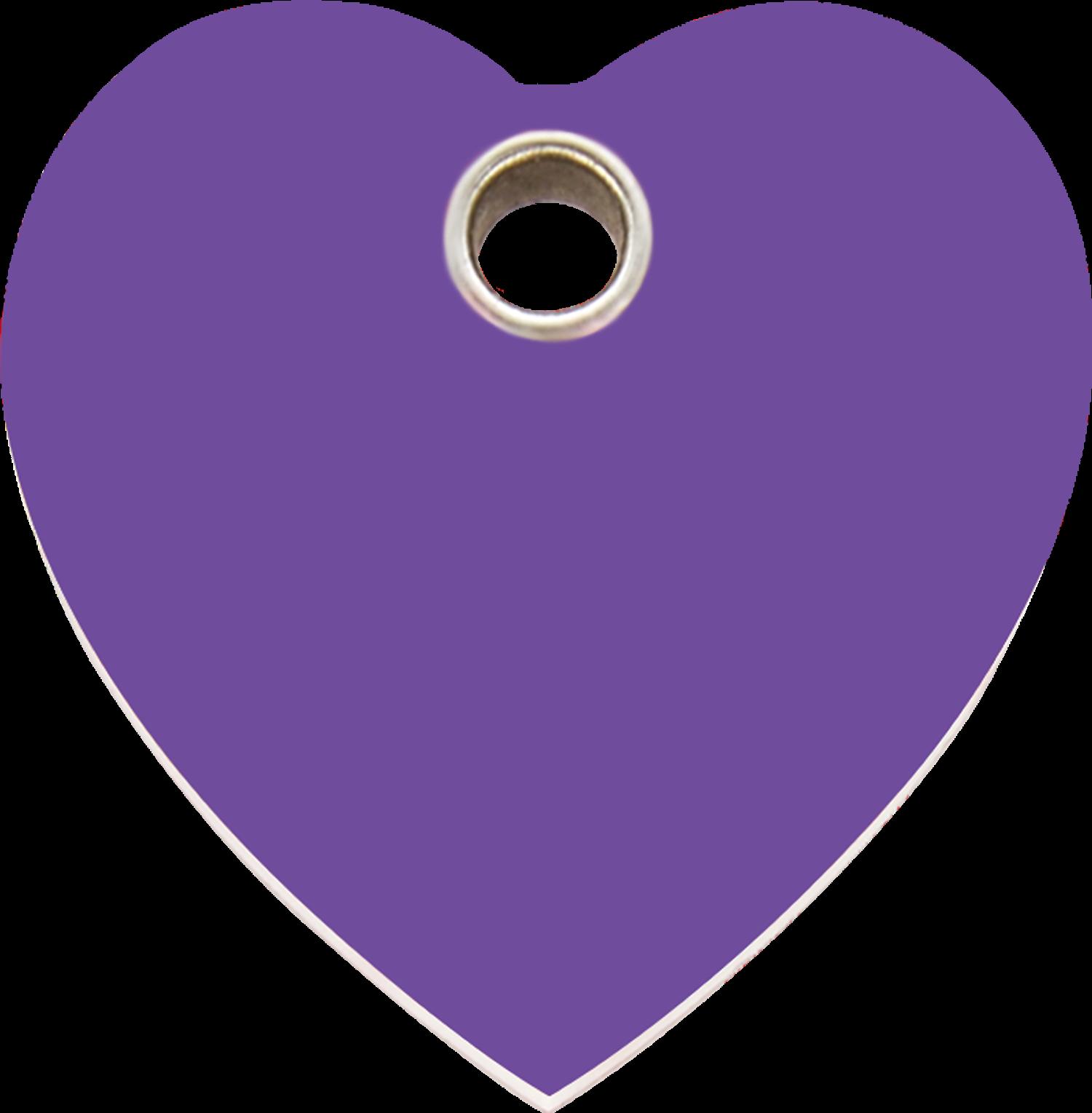Red dingo plastic tag heart purple 04 ht pu 4htps 4htpm 4htpl image buycottarizona
