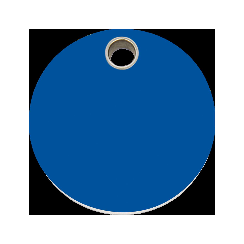 Dark Blue Circle Png Red Dingo Plastic Tag ...