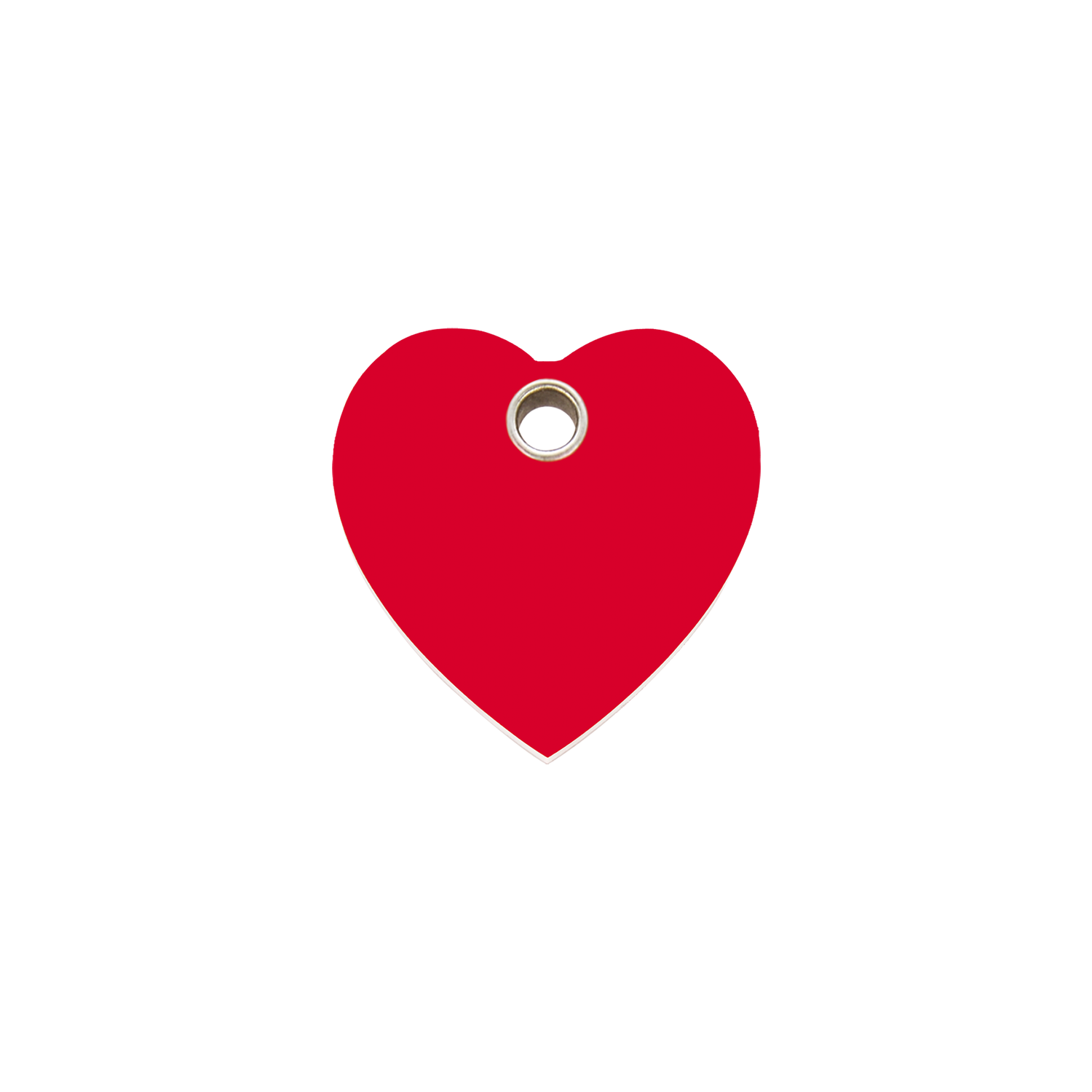Red Dingo Plastic Tag Heart Red 04 Ht Re 4htrs 4htrm 4htrl