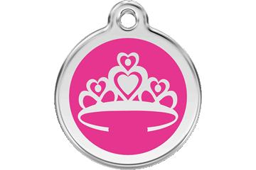 Red Dingo Médaillon en émail Crown Rose Bonbon 01-CR-HP (1CRHPS / 1CRHPM / 1CRHPL)
