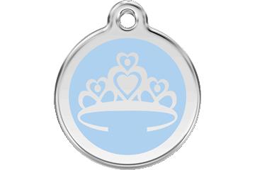 Red Dingo Médaillon en émail Crown Bleu Clair 01-CR-LB (1CRLBS / 1CRLBM / 1CRLBL)