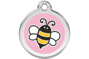 Red Dingo Email Penning Bumble Bee roze 01-EP-PK (1EPPKS / 1EPPKM / 1EPPKL)