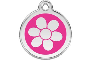 Red Dingo Médaillon en émail Flower Rose Bonbon 01-FW-HP (1FWHPS / 1FWHPM / 1FWHPL)