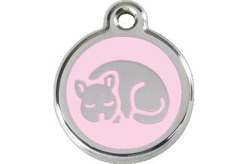 Red Dingo Médaillon en émail Kitten Rose 01-KT-PK (1KTPKS)
