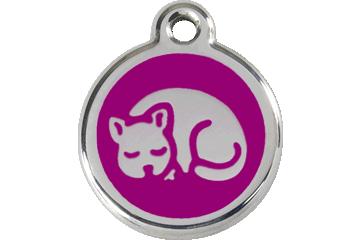 Red Dingo Médaillon en émail Kitten Violet 01-KT-PU (1KTPS)