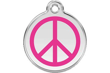 Red Dingo Médaillon en émail Peace Rose Bonbon 01-PC-HP (1PCHPS / 1PCHPM / 1PCHPL)