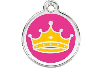 Red Dingo Médaillon en émail Queen Rose Bonbon 01-QC-HP (1QCHPS / 1QCHPM / 1QCHPL)