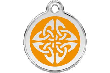 Red Dingo Médaillon en émail Tribal Arrows Orange 01-TA-OR (1TAOS / 1TAOM / 1TAOL)