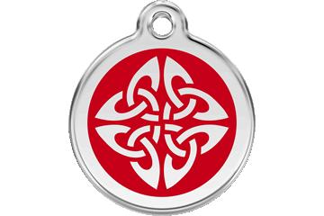 Red Dingo Médaillon en émail Tribal Arrows Rouge 01-TA-RE (1TARS / 1TARM / 1TARL)