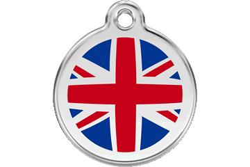 Red Dingo Médaillon en émail UK Flag 01-UK-DB (1UKNS / 1UKNM / 1UKNL)