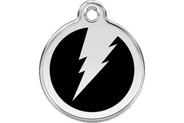 Red Dingo Médaillon en émail Flash Noire 01-ZF-BB (1ZFBL / 1ZFBM / 1ZFBS)