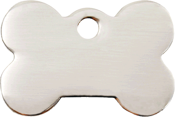 Red Dingo Stainless Steel Tag Bone 02-BN-ZZ (2BNS / 2BNM / 2BNL)