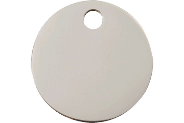 Red Dingo Stainless Steel Tag Circle 02-CL-ZZ (2CLS / 2CLM / 2CLL)