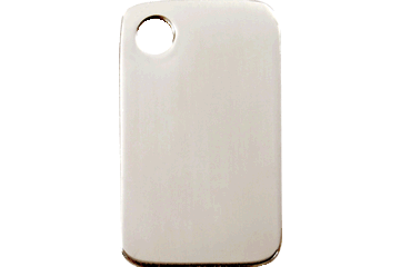 Red Dingo Stainless Steel Tag Rectangular 02-RT-ZZ (2RTS / 2RTM / 2RTL)