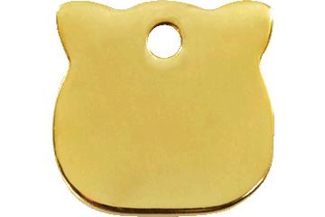 Red Dingo Médaillon en laiton Cat Head 03-CH-ZZ (3CHS)