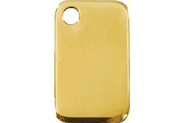 Red Dingo Brass Tag Rectangular 03-RT-ZZ (3RTS / 3RTM / 3RTL)