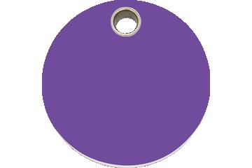 Red Dingo Médaillon en plastique Circle Violet 04-CL-PU (4CLPS / 4CLPM / 4CLPL)