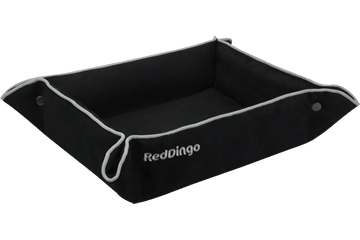 Red Dingo 2 Way Bed Black 2B-MF-BB