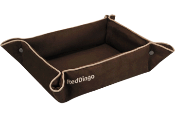 Red Dingo 2 Way Bed Chocolate 2B-MF-BR