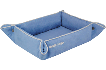 Red Dingo 2 Way Bed Sky Blue 2B-MF-LB