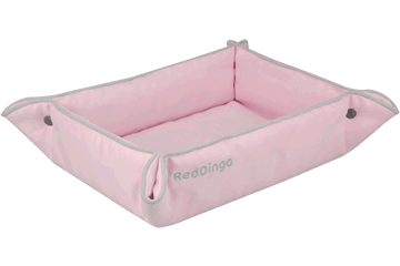 Red Dingo 2 Way Bed roze 2B-MF-PK