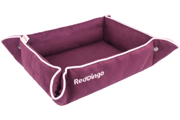 Red Dingo 2 Way Bed purper 2B-MF-PU