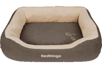 Red Dingo Donut Bed Dark Brown / Cream BD-MM-BR