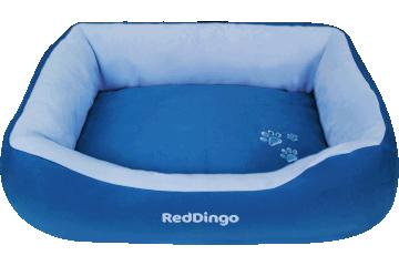 Red Dingo Donut Bed Dark Blue / Light Blue BD-MM-LB