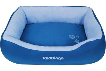 Red Dingo Donut Bed Dark Blue / Light Blue BD-MM-LB