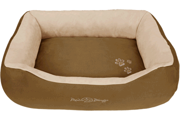 Red Dingo Donut Bed Natural Brown / Cream BD-MM-NB (BDDS106 / BDDM106 / BDDL106 / BDDXL106)