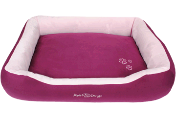 Red Dingo Donut Bed Purple / Pink BD-MM-PU