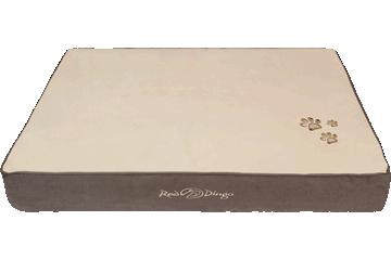 Red Dingo Mattress Cream / Dark Brown BM-MM-BR