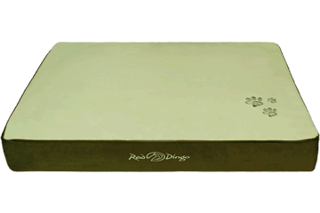 Red Dingo Mattress Army Green / Lime Green BM-MM-GR