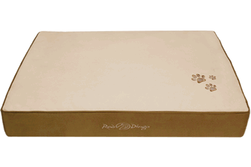 Red Dingo Mattress Cream / Natural Brown BM-MM-NB