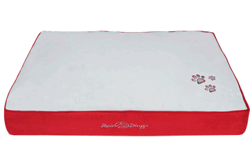 Red Dingo Mattress Light Grey / Red BM-MM-RE (BDMS107 / BDMM107 / BDML107 / BDMXL107)
