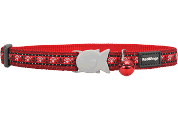 Red Dingo Cat Collar Carnival Red CC-CA-RE