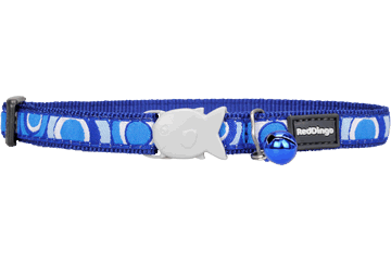 Red Dingo Cat Collar Circadelic Dark Blue CC-CI-DB