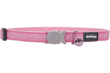 Red Dingo Cat Collar Cosmos Pink CC-CO-PK