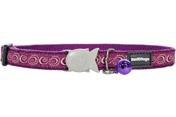 Red Dingo Cat Collar Cosmos Purple CC-CO-PU
