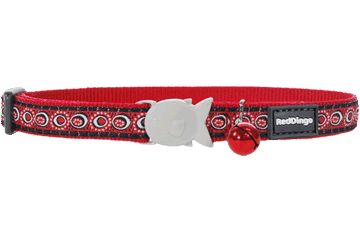 Red Dingo Katzenhalsband Kosmos Rot CC-CO-RE