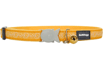 Red Dingo Cat Collar Cosmos Yellow CC-CO-YE