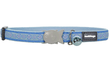 Red Dingo Collare Gatto Daisy Chain Light Blue CC-DC-LB