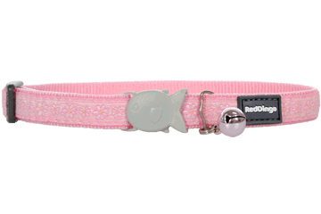 Red Dingo Cat Collar Daisy Chain Pink CC-DC-PK