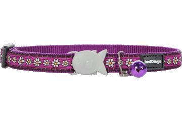 Red Dingo Katzenhalsband Daisy Chain Violett CC-DC-PU