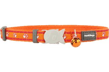 Red Dingo Cat Collar Desert Paws Orange CC-DP-OR