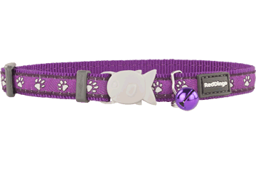 Red Dingo Cat Collar Desert Paws Purple CC-DP-PU