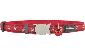 Red Dingo Cat Collar Desert Paws Red CC-DP-RE