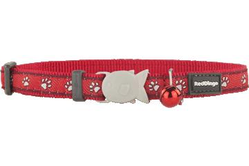 Red Dingo Cat Collar Desert Paws Red CC-DP-RE