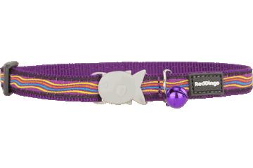 Red Dingo Cat Collar Dreamstream Purple CC-DS-PU